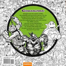 nickelodeon coloring book random house tmnt kickin u0027 it old coloring book n a 1st