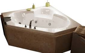 Jacuzzi Bathtub Maintenance Atlantis Tubs 6060sw Sublime 60x60x23 Inch Corner Whirlpool Jetted