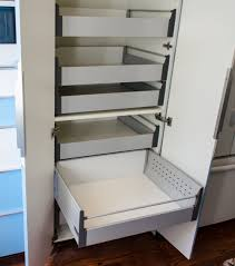 kitchen pantry cabinet with pull out shelves ikea akurum high cabinet hack with sliding shelves slide out