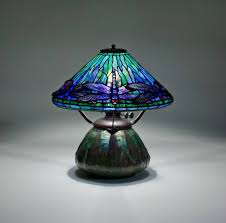 tiffany l base reproductions scenic tiffany studios ls catalogue lillian llc green dragonfly