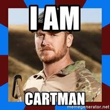 Chris Kyle Meme - i am cartman chris kyle meme generator
