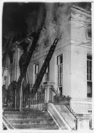 the christmas eve west wing fire of 1929 white house historical