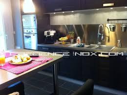 cr ence en miroir pour cuisine credence pour cuisine blanche maison design bahbe com modele de