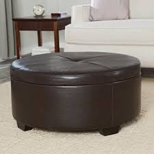 coffee table round leather top coffee table starrkingschool