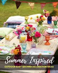 baby shower decorations ideas summer inspired outdoor baby shower decoration ideas