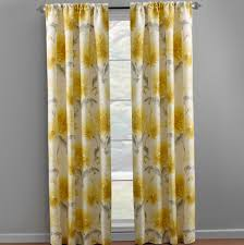 Yellow Window Curtains Yellow And Gray Window Curtains Eulanguages Net