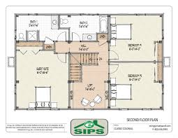 House Floor Plans With Walkout Basement by 4 Bedroom Colonial House Plans Design With Pictures P Hahnow
