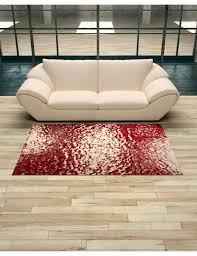 tappeto design moderno tappeto design moderno rosso morbido e vellutato sconto