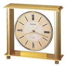 Bulova Valeria Mantel Clock Bulova Table Clock Prince Furniture