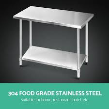 exquisite design stainless steel kitchen table features rectangle