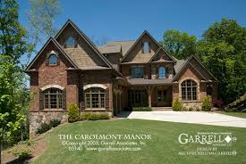 carolmont manor house plan house plans by garrell associates inc