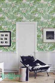 Temporary Wallpaper Uk Martinique Banana Leaves Wallpaper Home Decor Pinterest