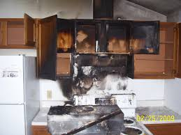 Damaged Kitchen Cabinets Fire Damaged Kitchen Cabinets Kitchen