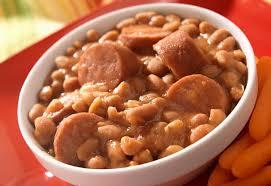 seasoned baked beans and franks recipe