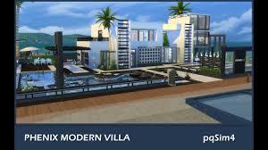 sims 4 speed build phoenix modern villa youtube