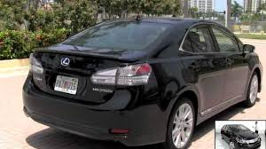 lexus hybrid sedan price 2010 lexus hs250h hybrid black opal mica autos of palm beach youtube