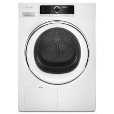 Heat Pump Clothes Dryer Whirlpool 4 3 Cu Ft Electric Dryer With True Ventless Heat Pump