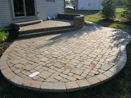 patio ideas paver patio pictures with cost brick paver patio