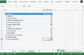 free excel invoice template v1 0 with customer and product list