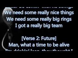 nice big rings images Drake future big rings lyrics jpg