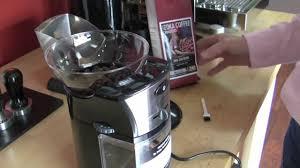 Kitchenaid Burr Coffee Grinder Review Crew Review Capresso Burr Coffee Grinder Youtube