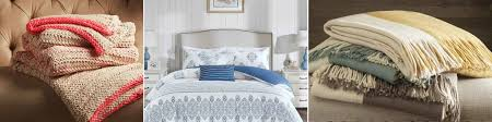new bedding and bath decor for beach homes
