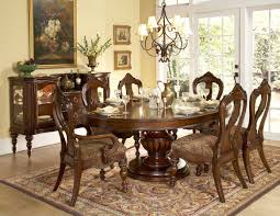 Round Kitchen Table Sets For 6 by Ultramodern Retro Brown And Blue Living Room Ideas Interior