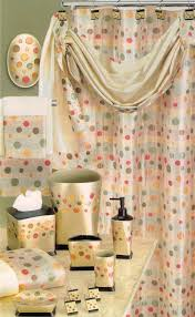 Best Fabric For Shower Curtain Fancy Shower Curtains With Valance And Ruffled Double Swag Shower