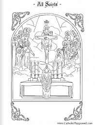 three archangels all saints day coloring page free amp printable