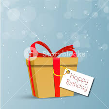 happy birthday greeting card or invitation card with diffrent