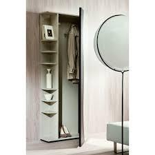porte manteau armoire meuble d entrée avec porte manteaux et miroir futura arredaclick