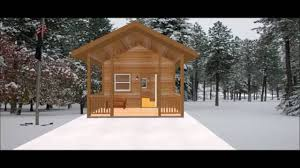 conestoga log cabin kit tour 14 u0027x16 u00277