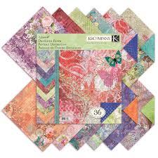 amazon com k u0026company jubilee designer paper pad 12 inch by 12 inch
