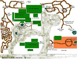Map Of Sedona Arizona by Property Map Of Vortexes And Energy Spots The Sedona Dream Maker B U0026b