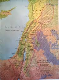 Biblical Map Biblical Map The Empire Of David And Solomon World Events And