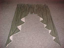 Primitive Swag Curtains Bj S Country Charm Primitive Homespun Swags