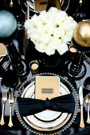 Black And White Centerpieces For Weddings by 134 Best Black And Gold Weddings And Centerpieces Images On