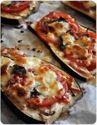 cuisiner aubergine four aubergines facon pizza aubergines tomates fraîches coulis de