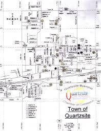 Yuma Az Map Camping In And Around Quartzsite