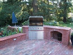 brick outdoor kitchen crafts home