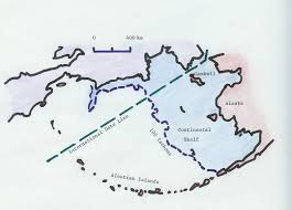 Aleutian Islands Map The Setting Of Gambell