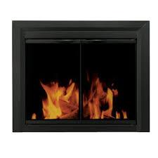 amazon com pleasant hearth cl 3002 carlisle fireplace glass door