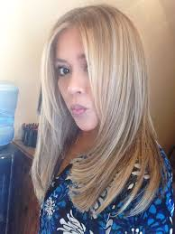 blonde highlights ash brown base color halo couture