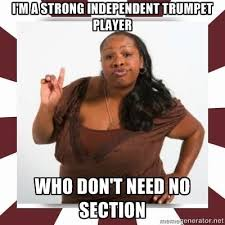 Trumpet Player Memes - marching band memes