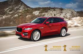 jaguar f pace voted 2017 best and most beautiful car in the world