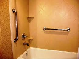 bathtubs amazing bathtub grab bar installation height 107 shower