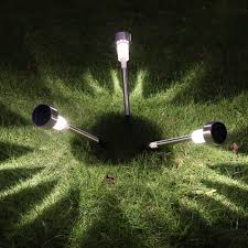 easy 10 pcs led solar lawn light outdoor landscape path patio led