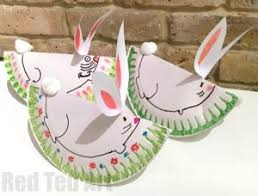 Easter Decorations For Preschool by Paper Plate Easter Crafts For Preschool Red Ted Art U0027s Blog