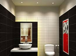 modern black and white bathroom wall decor accessories