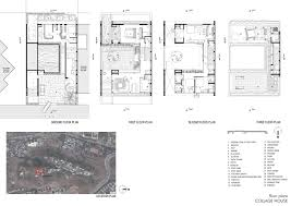 golden girls floorplan gallery of collage house s ps architects 38 collage